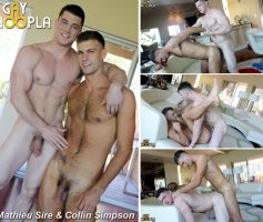 Vídeo Gay Online – Gayhoopla: Mathieu Sire & Collin Simpson