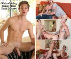 Vídeo Gay Online – Icon Male: Michael Delray, Danny Gunn & Dane Stewart