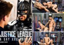 Vídeo Gay Online – Men.com: Justice League : A Gay XXX Parody Part 1
