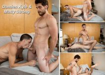 Vídeo Gay Online – Next Door Buddies: Damien Kyle & Matty Strong