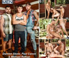 Vídeo Gay Online – The Bayou Part 3 – Damien Stone, Michael Roman & Paul Canon