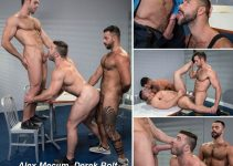 Vídeo Gay Online – Raging Stallion: Alex Mecum, Derek Bolt & Teddy Torres