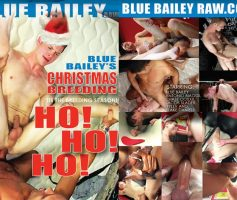 Vídeo Gay Online – Blue Bailey Raw: Blue Bailey's Christmas Breeding DVD Completo