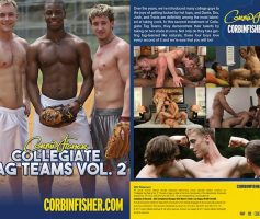Vídeo Gay Online – Corbin Fisher: Collegiate Tag Teams 2 DVD Completo