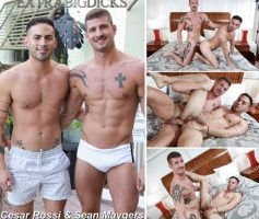 Vídeo Gay Online – Extra Big Dicks: Cesar Rossi & Sean Maygers
