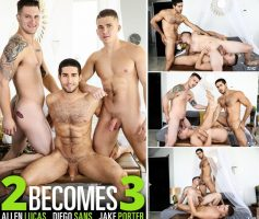 MEN.com – 2 Becomes 3 – Diego Sans, Jake Porter & Allen Lucas – DOWNLOAD