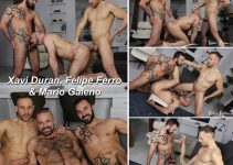 Vídeo Gay Download – Sexo Gay Bareback: Xavi Duran, Felipe Ferro & Mario Galeno