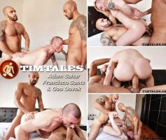 Vídeo Gay Download – Sexo Gay Bareback: Adam Sahar, Francisco Sants & Geo Dovek