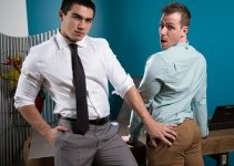 Fotos Sexo Gay Bareback – Office Offenders: Blake Hunter & Axel Kane