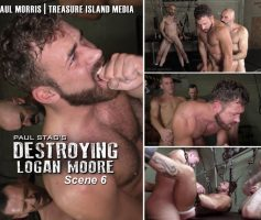 Treasure Island Media – Destroying Logan Moore: Logan Moore GangBang – Online