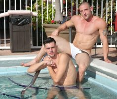 DylanLucas – Pool Daddy: Timothy Rivers & Ceasar Camaro – Photoset