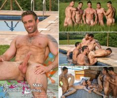 Kristen Bjorn – First Time Part 1: Orgy With Jake Genesis, Mike Colucci, Valentino Porto, Mattias Solich & Rado Zuska – Online