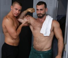 ExtraBigDicks – Worship My Big Muscles and Fat Cock: Jaxton Wheeler & Aston Springs – Photoset