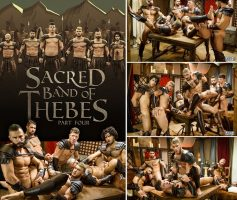 Sacred Band Of Thebes Part 4 – Diego Sans, Francois Sagat, JJ Knight, Ryan Bones, William Seed & D.O. – Download